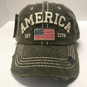 Women's AMERICA baseball cap-hat